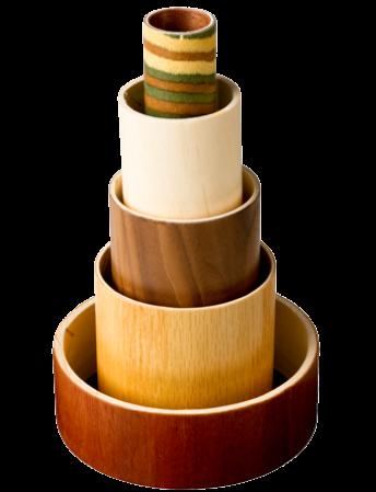 Wood Tubes